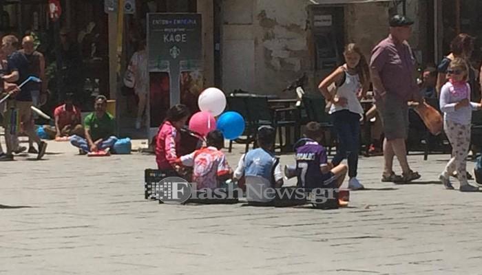 Επαίτες και παραεμπόριο κυριαρχούν στην παλιά πόλη στα Χανιά