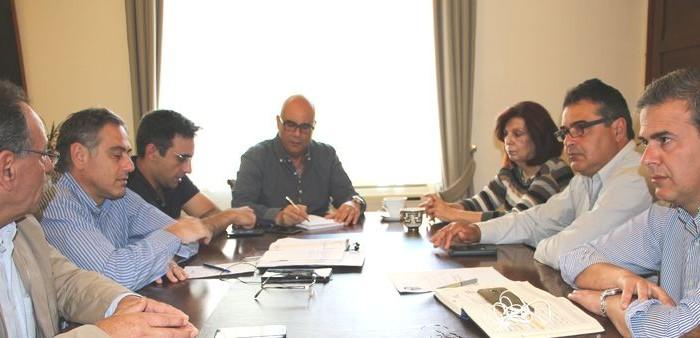 Σύσκεψη για τον συντονισμό του έργου των Νομικών Προσώπων του Δήμου Χανίων