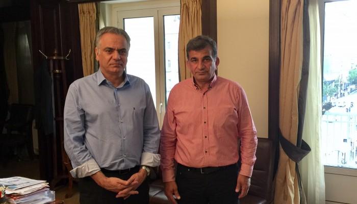 Με τον Υπουργό Εσωτερικών συναντήθηκε ο δήμαρχος Αμαρίου