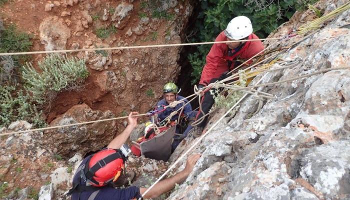 Άσκηση σπηλαιοδιάσωσης το τριήμερο της Πρωτομαγιάς στα Χανιά