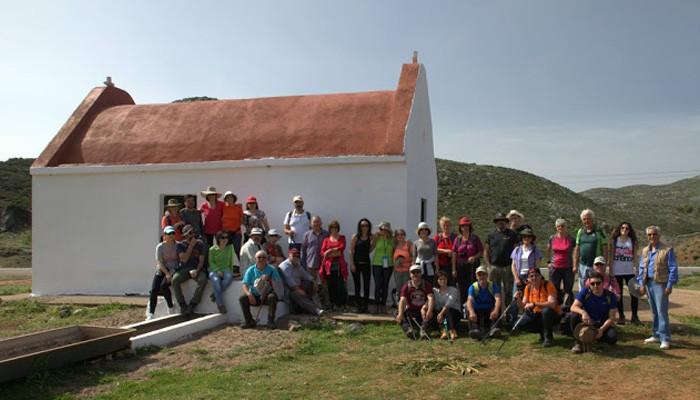 Η πεζοπορία προς τον Στρούμπουλα απο τον Ορειβατικό Σύλλογο Αγ. Νικολάου