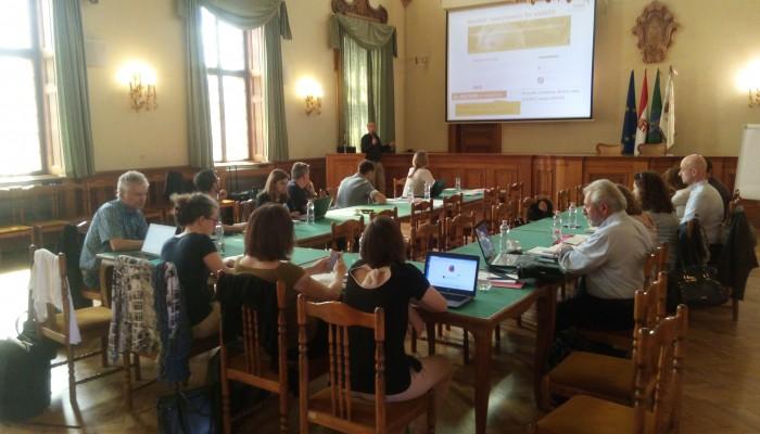 Η περιφέρεια Κρήτης στην συνάντηση των Εταίρων του έργου ΤΑΝΙΑ στο Pecs