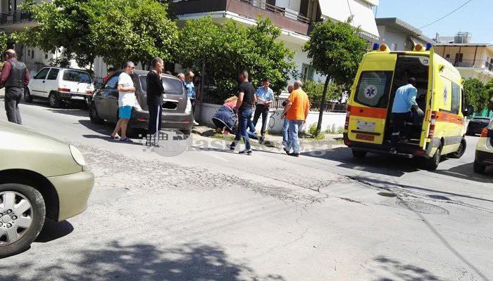 Τροχαίο με τραυματία νεαρό οδηγό μοτο στα Χανιά (φωτο)