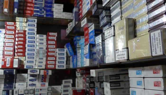 Ηράκλειο: Βρέθηκαν 10 κιλά λαθραίου καπνού και εκατοντάδες πακέτα τσιγάρων