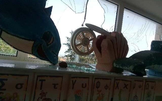 Βανδαλισμοί στο νηπιαγωγείο Νεροκούρου (φωτο)