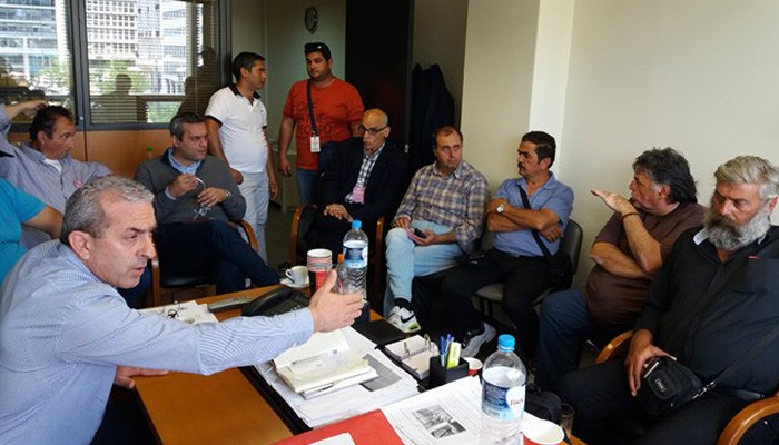 Συνάντηση Σωκράτη Βαρδάκη με εργαζόμενους σε Δήμους