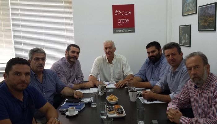 Ο Τάσος Κουρουπάκης νέος Πρόεδρος της Αγροδιατροφικής Σύμπραξης