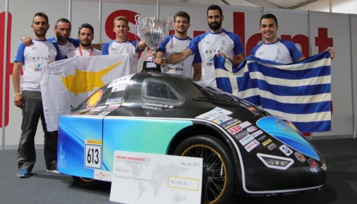 H ομάδα TUC Eco Racing κατακτά για 4η φορά το Βραβείο Ασφάλειας