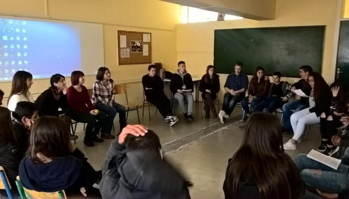 Η Συμβουλευτική Μονάδα Εφήβων του ΚΕΘΕΑ ΑΡΙΑΔΝΗ σε σχολεία του Ηρακλείου