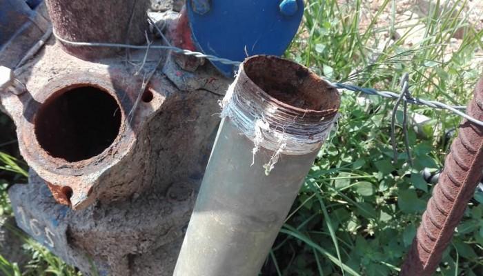 Χωρίς νερό άρδευσης περιοχή στα Χανιά μετά από τροχαίο
