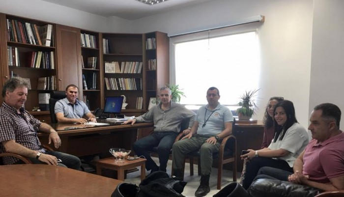 Συνάντηση του δημάρχου Ιεράπετρας με τον σύλλογο καταστημάτων εστίασης