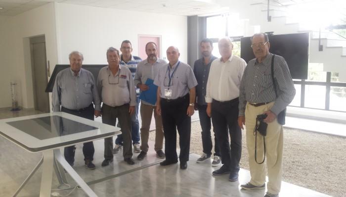 ΙΤΕ:Επίσκεψη του Δήμαρχου Βιάννου και της Διοίκησης Μουσείου Ολοκαυτώματος