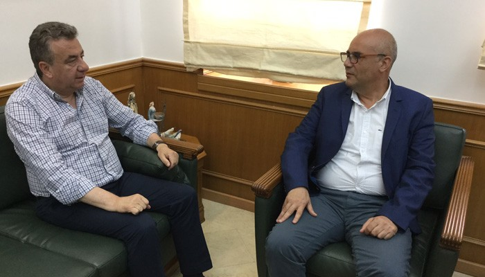 Τι συζητήθηκε στην συνάντηση Αρναουτάκη και Βάμβουκα στην Περιφέρεια Κρήτης