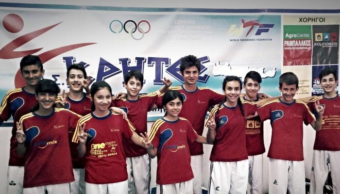 Α.Σ. Κρήτες: Συμμετοχή στο 2ο κύπελλο Ακρόπολης