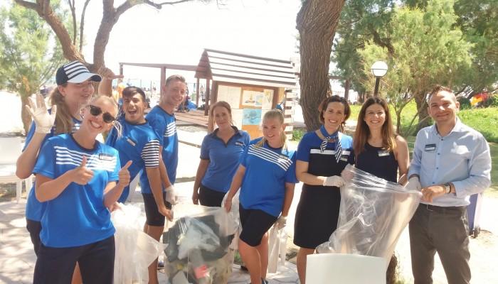 Παγκόσμια ημέρα περιβάλλοντος και καθαρισμός παραλίας στον όμιλο