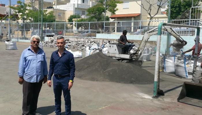 Ανακατασκευάζεται το ποδοσφαιρικό γήπεδο 5Χ5 στα Δειλινά