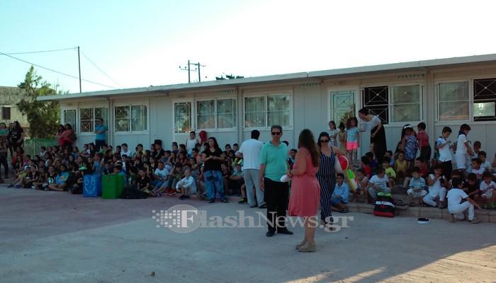Η γιορτή του Δημοτικού Σχολείου Παζινού στο Ακρωτήρι Χανίων (φωτο)