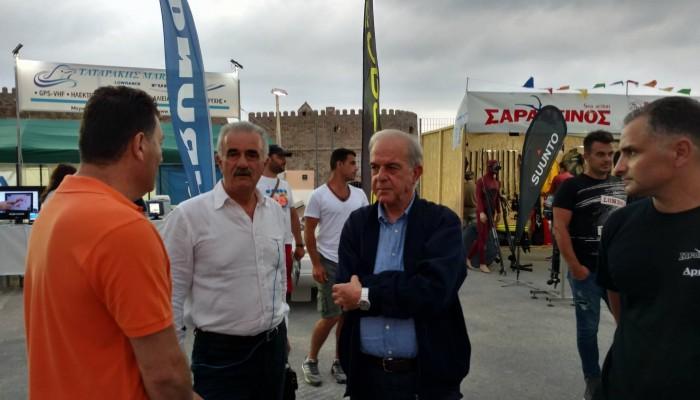 Ο Δήμαρχος Ηρακλείου Βασίλης Λαμπρινός στις εκδηλώσεις του  «Εν Πλω 2017»