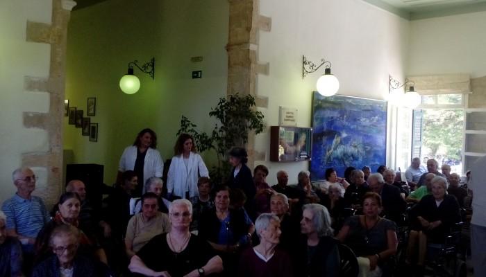 Γιόρτασαν το έθιμο του Κλήδονα στο δημοτικό γηροκομείο Χανίων