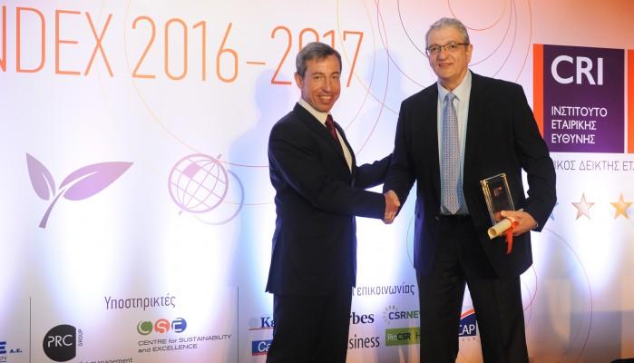 CRI Gold στην Ελληνικός Χρυσός για την οικονομική-κοινωνική της συνεισφορά