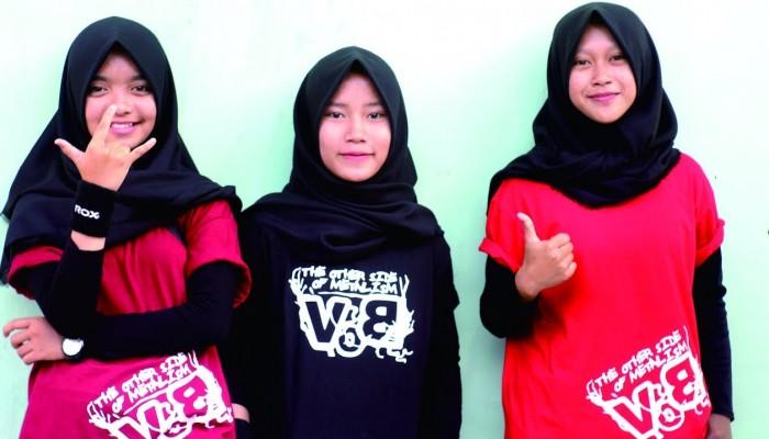 VoB: Μια μπάντα thrash metal της Ινδονησίας (από γυμνασιοκόριτσα)