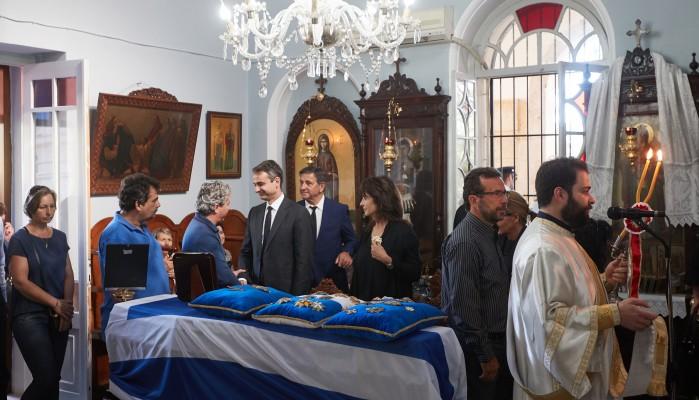 Η Κρήτη αποχαιρετά τον Κωνσταντίνο Μητσοτάκη (φωτο – βίντεο)