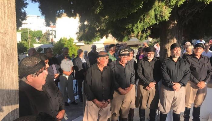 Φόρο τιμής από το δήμο Πλατανιά στους εκτελεσθέντες της Μάχης της Κρήτης