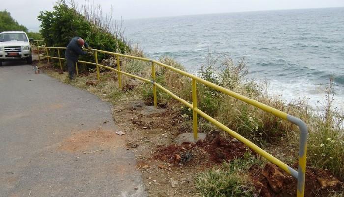 Αποκατάσταση της προσβασιμότητας των πεζοδρομίων στην οδό Βιβιλάκη