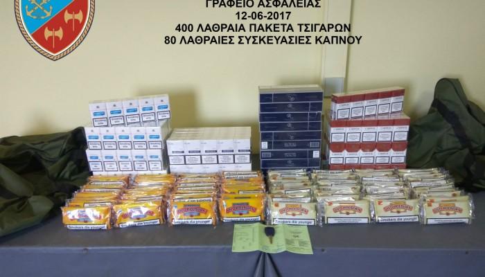 Συνελήφθη με γεμάτο το αυτοκίνητο λαθραία τσιγάρα στο Ηράκλειο