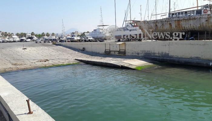 Ανθρώπινο μέλος βρέθηκε στο λιμάνι του Ηρακλείου (φωτό)
