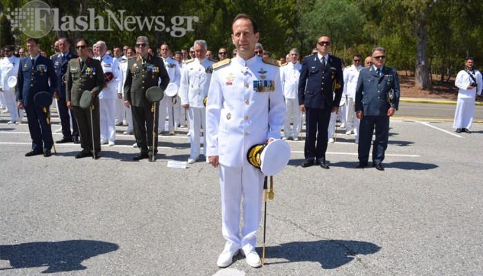 Νέος διοικητής στον Ναύσταθμο Κρήτης (φωτό - βίντεο)