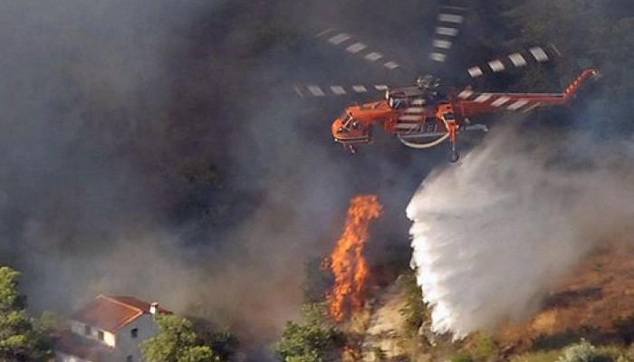 Στην Κρήτη έφτασε το μεγάλο πυροσβεστικό ελικόπτερο Ericsson