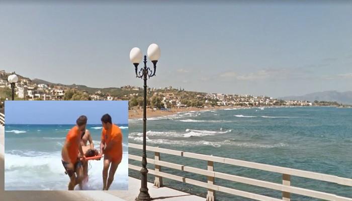 Άφησε την τελευταία της πνοή στην παραλία Αγ. Μαρίνας στα Χανιά