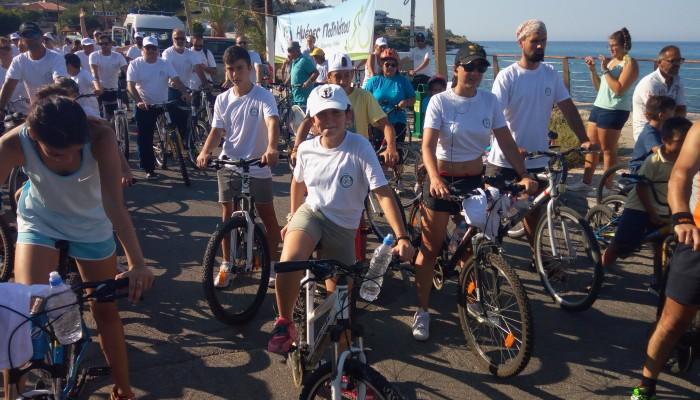 Με επιτυχία η ποδηλατοβόλτα Σταλίδα - Μάλια