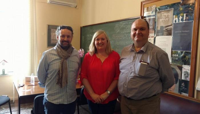 Στη Λότζια η Πρόξενος της Αυστραλίας στην Αθήνα