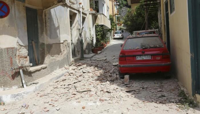 150 σπίτια κρίθηκαν ακατοίκητα στα Βρισά της Λέσβου,350 οι άστεγοι