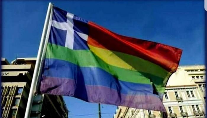 Ο παπάς των Ανωγείων για την παραποιημένη Σημαία που ύψωσαν στο gay pride
