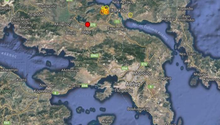 Σεισμός στη Θήβα - Έγινε αισθητός στην Αθήνα