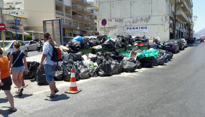SOS από τη Διεύθυνση Δημόσιας Υγείας για τα σκουπίδια