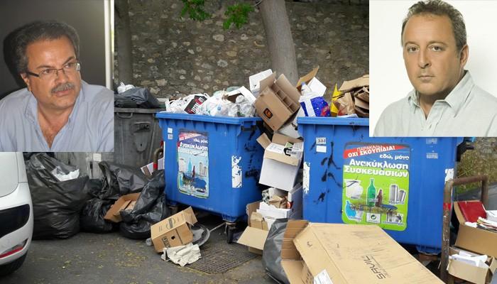 Καταγγελίες Μαλανδράκη για «χωματερές» από ιδιώτες
