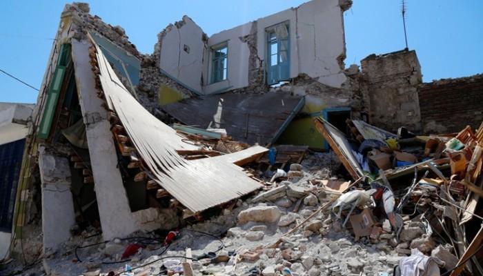 Κηδεύτηκε στην Βρίσα η άτυχη γυναίκα που έχασε τη ζωή της στον σεισμό