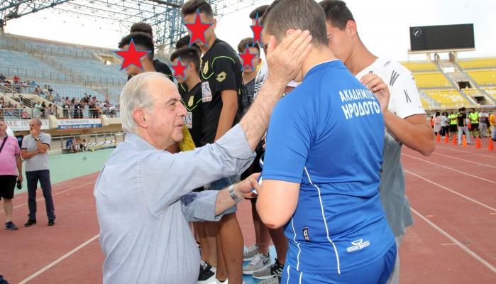 Με επιτυχία ολοκληρώθηκε το παιδικό τουρνουά ποδοσφαίρου του δ. Ηρακλείου