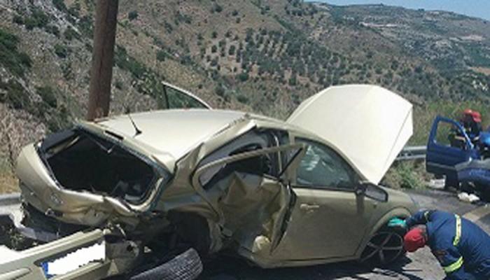 Σε κρίσιμη κατάσταση 28χρονος μετά από τροχαίο στο Ηράκλειο