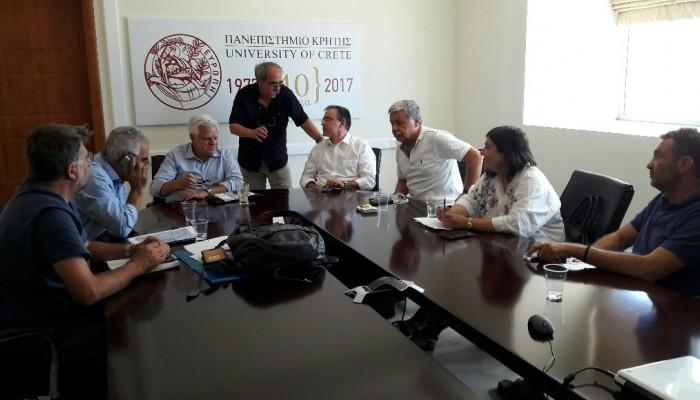 Σύσκεψη για το οδικό έργο στις Βούτες