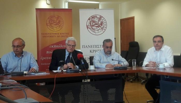 Απόσυρση του ν/σ Γαβρόγλου ζήτησε ο πρύτανης του Πανεπιστημίου Κρήτης