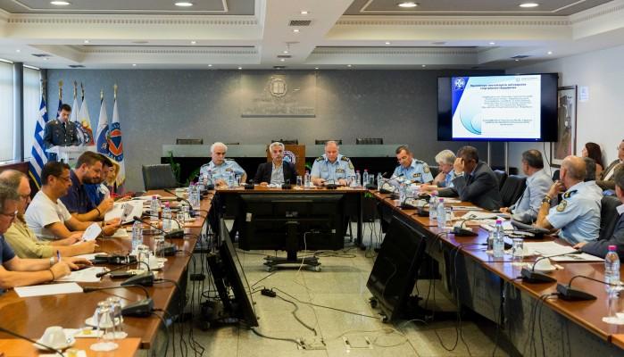 Παρουσίαση αποτελεσμάτων των προγραμμάτων αστυνόμευσης και ασφάλειας