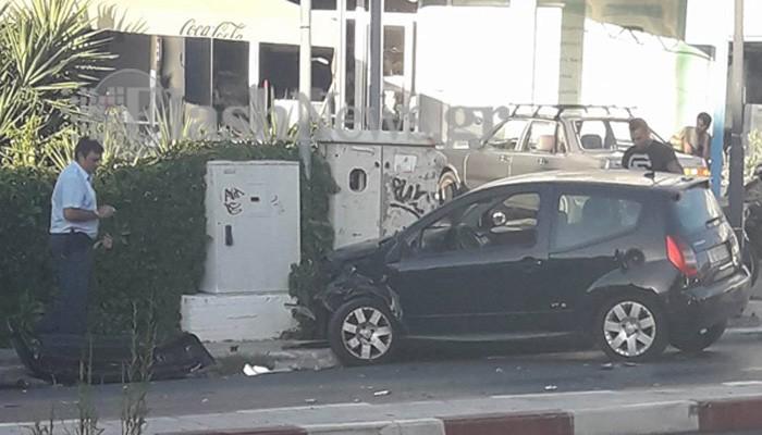 Χανιά: Σύγκρουση τριών αυτοκινήτων λίγα μέτρα πριν από το