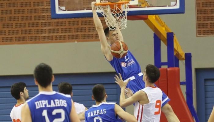 Πρώτη η Εθνική Νέων Ανδρών στο τουρνουά της Κρήτης