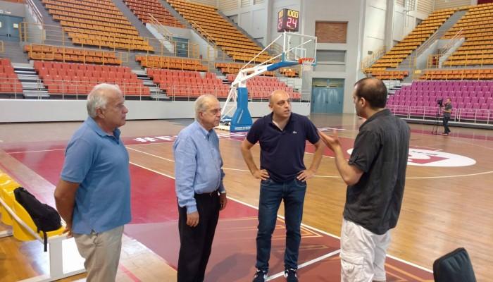 Πανέτοιμο το Νέο Κλειστό Γυμναστήριο για το Ευρωμπάσκετ Νέων Ανδρών
