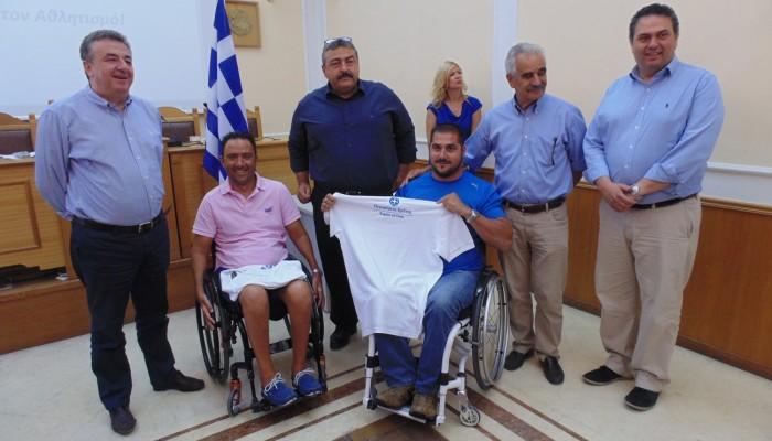 Συγχαρητήρια Περιφερειάρχη για το χρυσό του Μ. Στεφανουδάκη